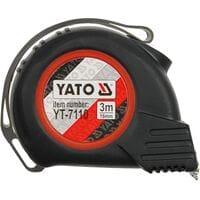 Рулетка вимир-на, 8м х 25мм, YT-7112 YATO