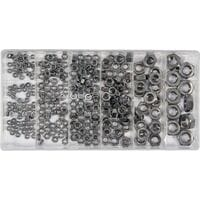 Гайки М3- М10 нержавіючі в пластиковій коробці, наб. 300 шт., YT-06773 YATO