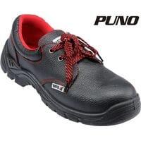 Туфлі робочі шкіряні з поліуретановою підошвою, модель PUNO, розм. 44, YT-80526 YATO