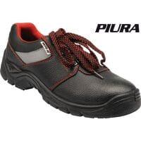 Туфлі робочі шкіряні з поліуретановою підошвою, модель PIURA, розм. 44, YT-80557 YATO