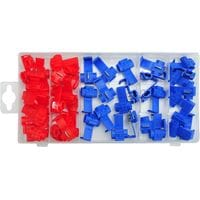 Швидкоз'єднувачі електропровідників різні набір 50 елементів, YT-06868 YATO