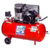 Компрессор поршневой с ременным приводом, Vрес=100л, 360л/мин, 220V, 2, 2кВт, AB100-360-220-ITALY FIAC