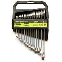 Набор ключей в холдере 06-22 мм 15 ед. ЕВРО комплект, АВТОТЕХНИКА 101150-К