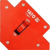 Магнит. струбцина заварки/выкл. 107х160х26, YT-0870 YATO