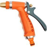 """Пістолет - зрошувач з металевим наконечником, регулюючий до шлан. d= 1/2"""" (89190 Vorel)"""