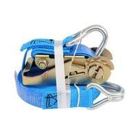 Ремінь для кріплення багажу з тріщаткою 500daN, 25мм х 5м (82397 Vorel)