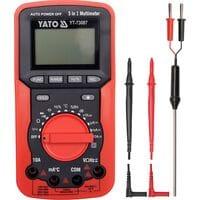 Прилад універсальний 5 в 1 для вимірюв. електр. параметрів і температури [24], YT-73087 YATO