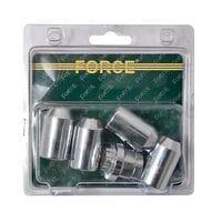 Набор секреток на литые диски 5пр. (644405 Force)