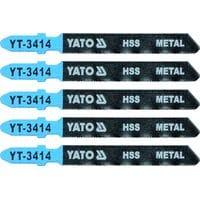 Полотно для електролобзика(метал) 32TPI, l=75мм, набір 5пр. [25/250], YT-3414 YATO