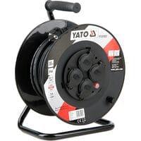 Удлинитель l= 30 м електр./мережевий до 16 А на котушці, кабель 3-жильний ?=1,5 мм?, YT-81053 YATO