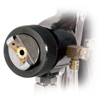 HVLP BLACK PROF Краскопульт 1.5мм, нижн.мет.бачок регулируем. (PT-0214 Intertool)