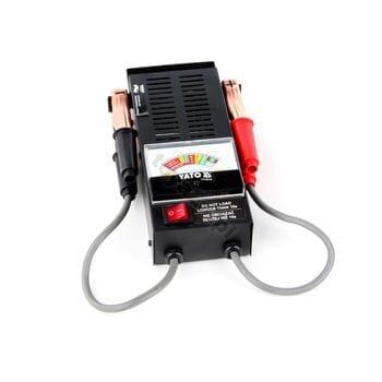Аналоговый аккумуляторный тестер 6/12V, YT-8310 YATO