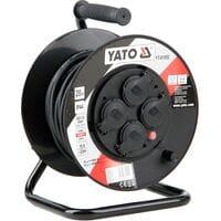 Удлинитель l= 20 м електр./мережевий до 16 А на котушці, кабель 3-жильний ?=1,5 мм?, YT-81052 YATO