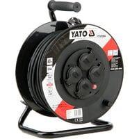 Удлинитель l= 40 м електр./мережевий до 16 А на котушці, кабель 3-жильний ?=1,5 мм?, YT-81054 YATO