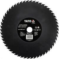 Диск-фреза відрізний і штробувальний по дереву, ПВХ. гіпсу, ?= 230х 22,2 мм, макс. 8000 об/хв, YT-59163 YATO