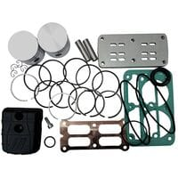 Рем.комплект для компрессора AB500-912-380 (фильтр, клапанная плита, н-р прокладок, н-р поршней HP, 4086390000 FIAC