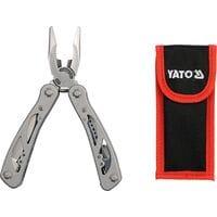 Набор принадлежностей с 9 инструм-ми, с нержав. стали, YT-76043 YATO