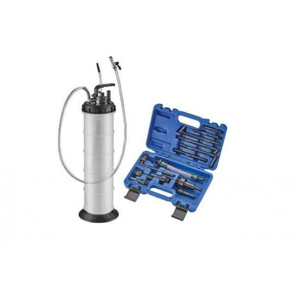 Насос для замены масла в автомат. КПП + набор адаптеров, A-13ED10L AST