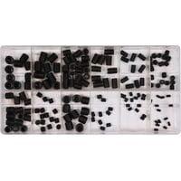 Гвинти під шестигранний ключ 3-10 мм, наб. 160 шт., YT-06777 YATO