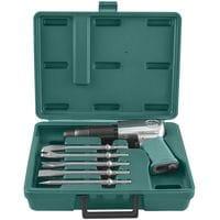 Набор пневматического инструмента молоток - 2100 уд/мин 283 л/мин и комплект насадок, 8 предметов (JAH-6833HK Jonnesway)