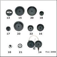 Комплект заглушек для автомобилей и грузовиков FLEXBIMEC 3493