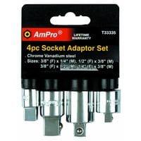 AmPro. Набор переходников 4шт (T33335)