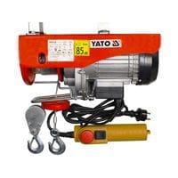 Лебедка электрическая канатная 900вт. 250/500кг, YT-5904 YATO