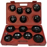Комплект съемников масляных фильтров 14 ед. (крышки), HS-E1245 HESHITOOLS