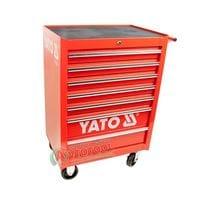 Тележка для инструмента 7 секций красная, YT-0914 YATO