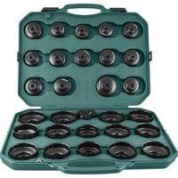 Комплект чашек для демонтажа масляных фильтров 65-120 мм, 30 предметов (AI050004A Jonnesway)