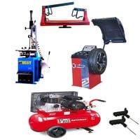 Комплект шиномонтажного оборудования с компрессором №2 (T524 CB910GBS MK103-90-3M)