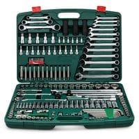 """Набор инструмента 163 предмета 1/4"""", 3/8"""",1/2"""" (TK-163 HANS tools)"""