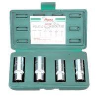 Комплект шпильковёртов 6-12мм, 4предм.(4391M HANS tools)
