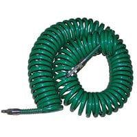 Шланг спиральн.для пневмоинстр-та 8*12мм*15м с переходниками (V-81215Р STRONG)