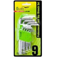Набор ключей изогнутых TORX. 9 пр. T10 -T50. ALLOID)