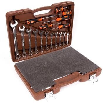 """Универсальный набор инструмента 1/4"""" и 1/2""""DR 55 предметов (OMT55S Ombra)"""