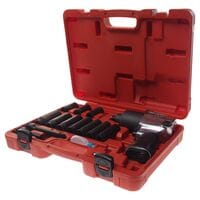 Набор инструментов для шиномонтажа (с пневмогайковертом 3202 JTC) в кейсе 15 ед. (7663K1 JTC)