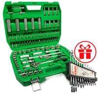 Набор инструментов 108пр. и Набор ключей 12пр. INTERTOOL ET-6108SP-HT-1203